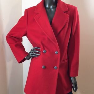 Talbots Coat 100% pure wool